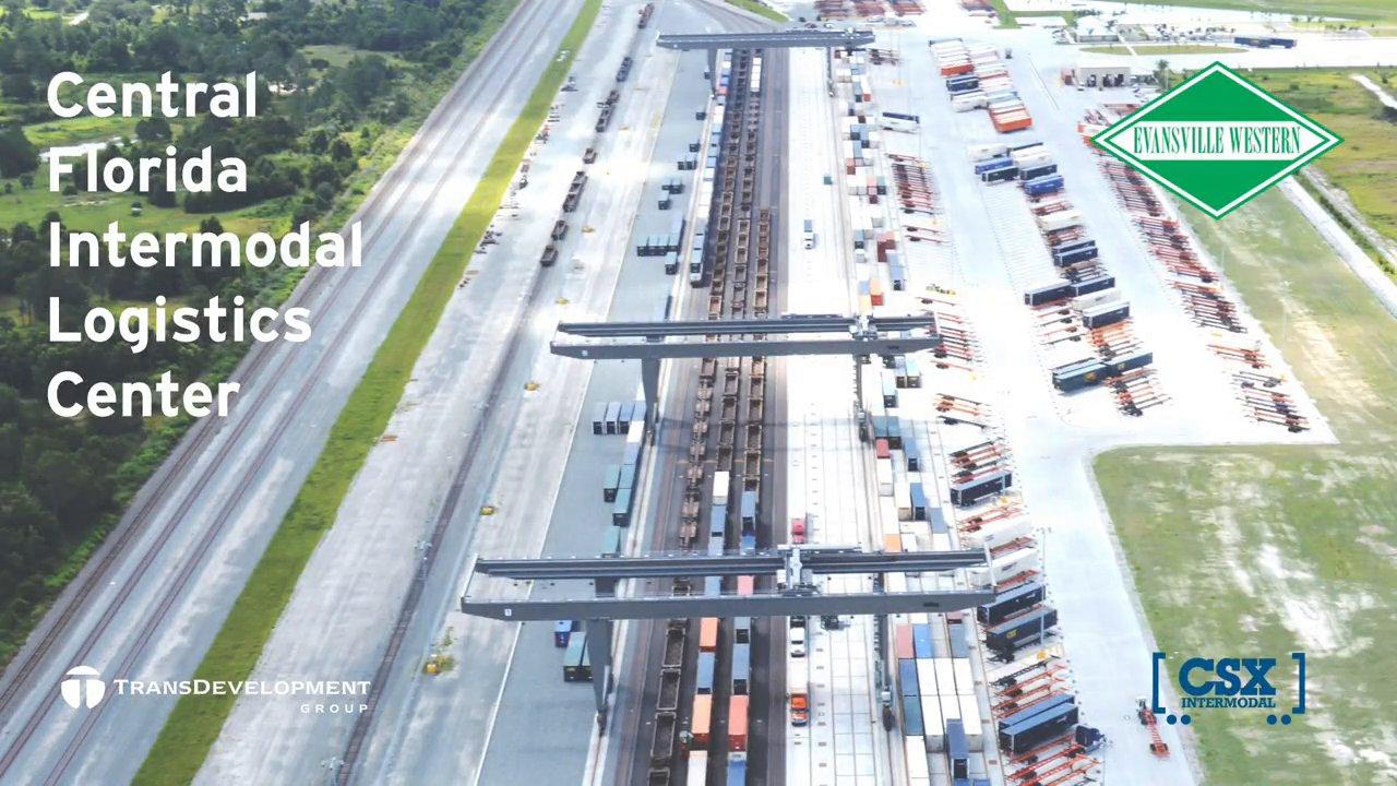 Central Florida Intermodal Logistics Center | TransDevelopment Group